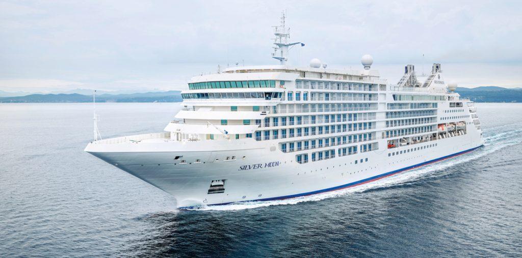 Silver Moon Silversea nave da crociera cruise ship