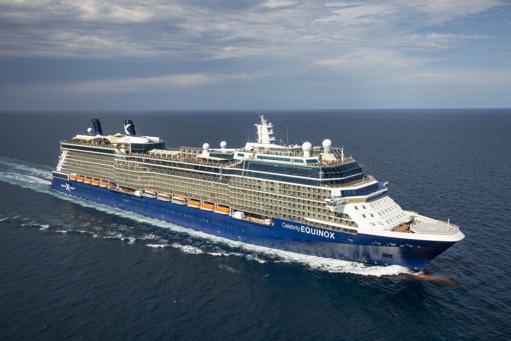 Celebrity Equinox, Cruise ship,
